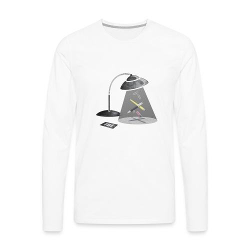 Desktop Abduction - Men's Premium Long Sleeve T-Shirt