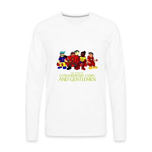 The League of Extraordinary Ladies and Gentlemen - Men's Premium Long Sleeve T-Shirt