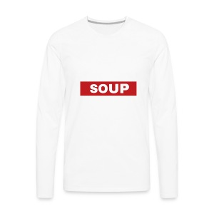 SOUP - Men's Premium Long Sleeve T-Shirt