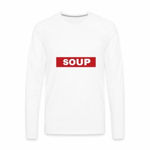 SOUP - Men's Premium Long Sleeve T-Shirt