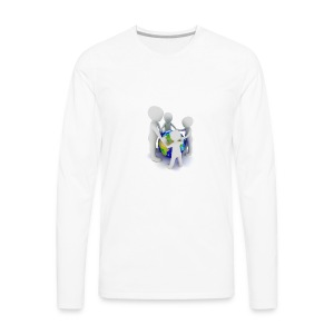 Save The Earth Presnt for all - Men's Premium Long Sleeve T-Shirt