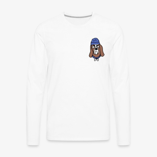bean dog7 - Men's Premium Long Sleeve T-Shirt