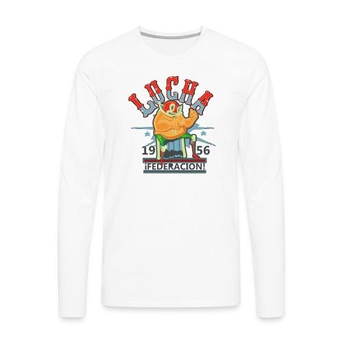 luchador - Men's Premium Long Sleeve T-Shirt