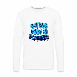 Getting kinky in pochinki - Men's Premium Long Sleeve T-Shirt