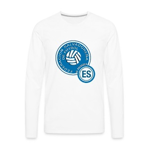El Salvador National Soccer Team Hoodie - Men's Premium Long Sleeve T-Shirt
