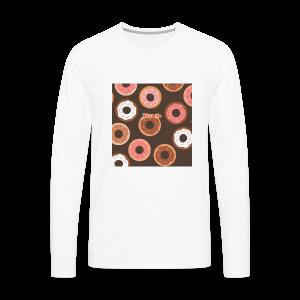BISMUTH doughnut design multi-color - Men's Premium Long Sleeve T-Shirt