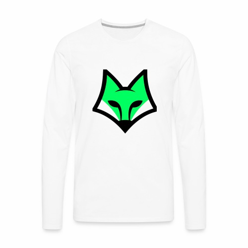 LFM Fox Logo - Men's Premium Long Sleeve T-Shirt