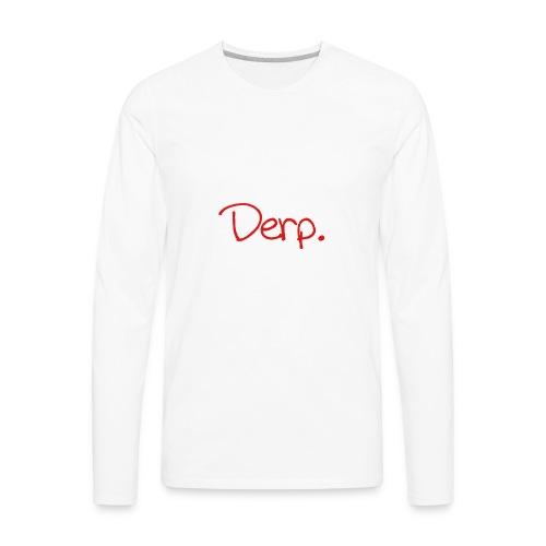 Derp Original - Men's Premium Long Sleeve T-Shirt