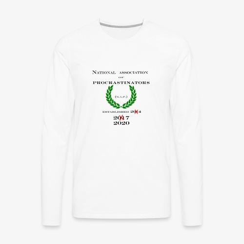 NAP! - Men's Premium Long Sleeve T-Shirt