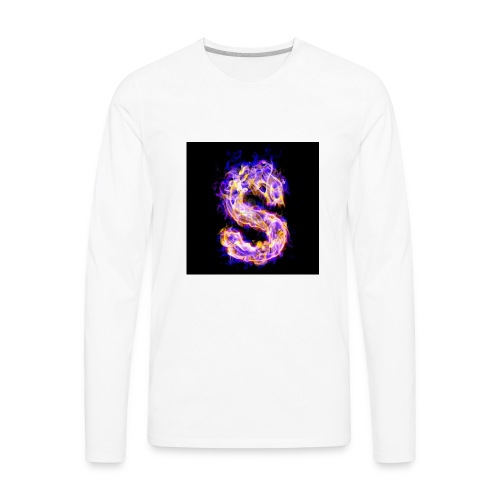 Letter lolzzYT - Men's Premium Long Sleeve T-Shirt