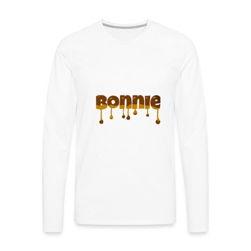 Bonnie chocolate - Men's Premium Long Sleeve T-Shirt