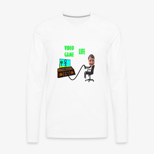 VideoGameLife - Men's Premium Long Sleeve T-Shirt