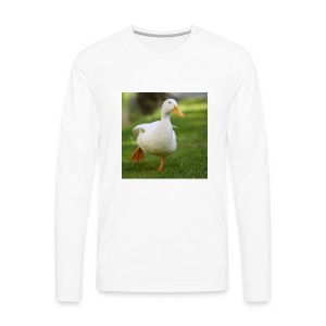 TheDuckTeam Icon / Avatar - Men's Premium Long Sleeve T-Shirt