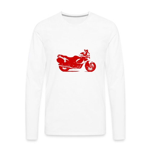 motorcycle - Men's Premium Long Sleeve T-Shirt