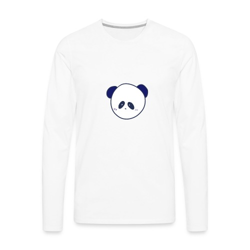 CyberPanda Head - Men's Premium Long Sleeve T-Shirt