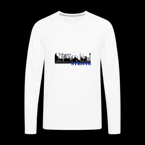 vegasStrong - Men's Premium Long Sleeve T-Shirt