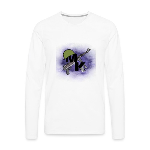 My New Logo - Men's Premium Long Sleeve T-Shirt