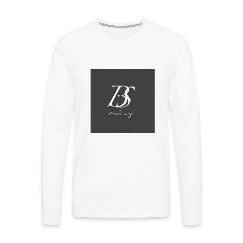 brandon savage vlogs - Men's Premium Long Sleeve T-Shirt