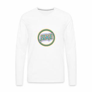 Jzke retro logo - Men's Premium Long Sleeve T-Shirt