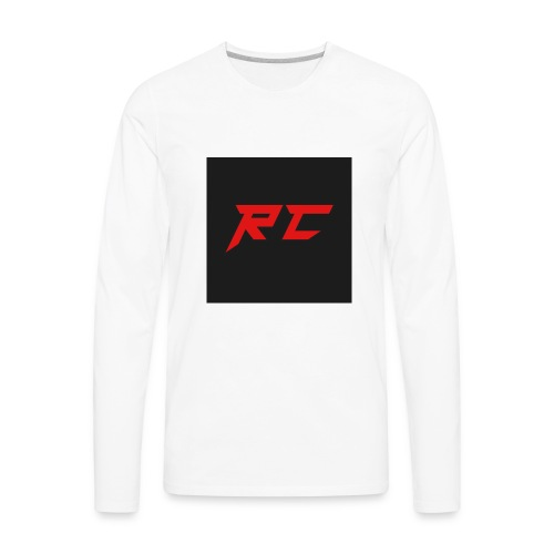 RED RC Logo - Men's Premium Long Sleeve T-Shirt