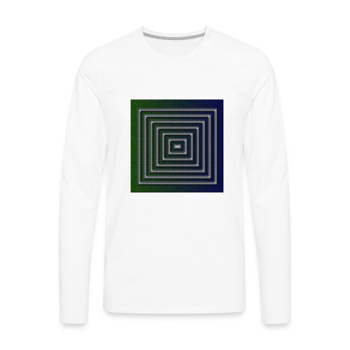 block - Men's Premium Long Sleeve T-Shirt