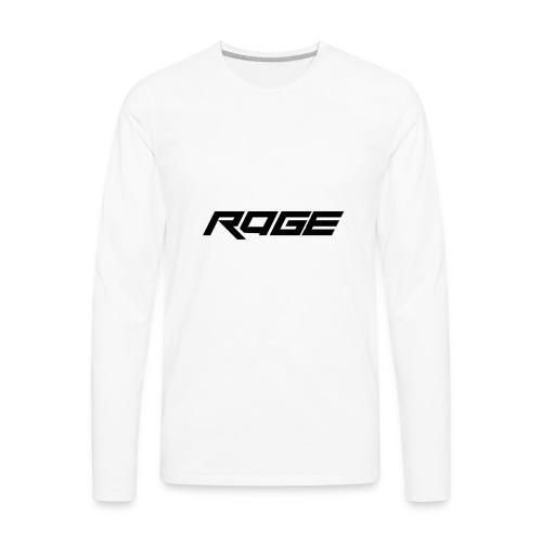Rage Reserve Logo - Men's Premium Long Sleeve T-Shirt
