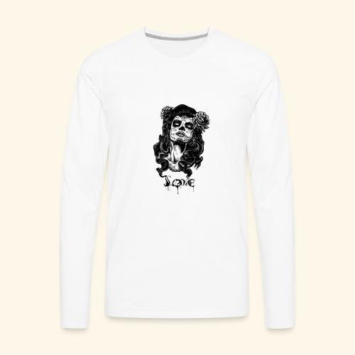 santa muerte - Men's Premium Long Sleeve T-Shirt