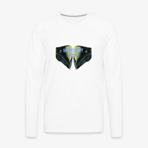 masked seal - Men's Premium Long Sleeve T-Shirt