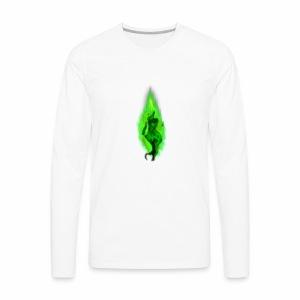 -=Corrupt=- Logo - Men's Premium Long Sleeve T-Shirt