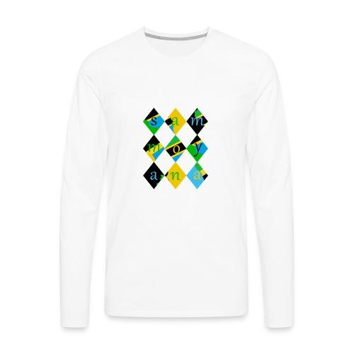 SamMoyana Tanzania - Men's Premium Long Sleeve T-Shirt