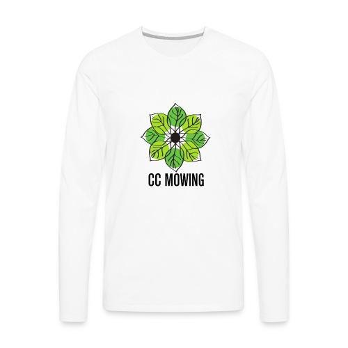 CC Mowing Logo - Men's Premium Long Sleeve T-Shirt