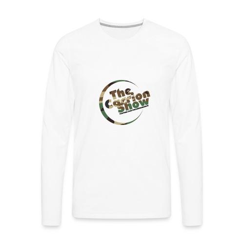 Camo logo Design - Men's Premium Long Sleeve T-Shirt