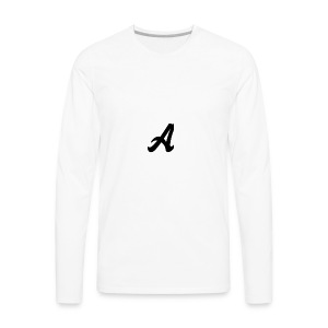 A Logo - Men's Premium Long Sleeve T-Shirt