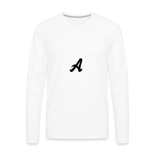A Logo - Men's Premium Long Sleeve T-Shirt