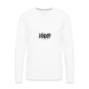 KHOST BLACK LETTERING - Men's Premium Long Sleeve T-Shirt