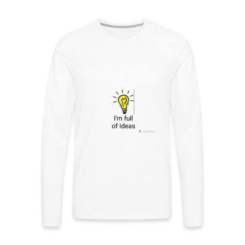 Full of Ideas Apparel - Men's Premium Long Sleeve T-Shirt
