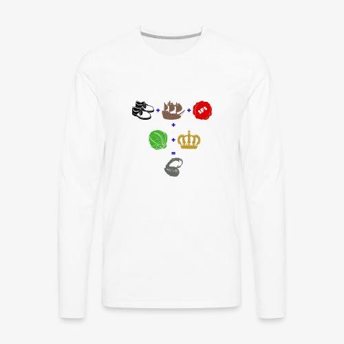 walrus and the carpenter - Men's Premium Long Sleeve T-Shirt
