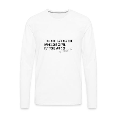Toss It - Men's Premium Long Sleeve T-Shirt