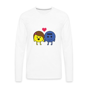 P and E love - Men's Premium Long Sleeve T-Shirt