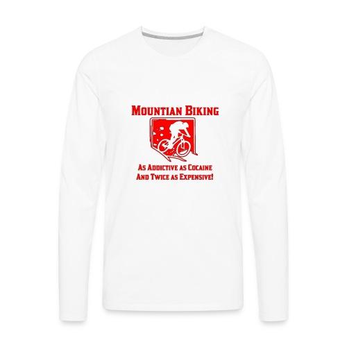 Addictive! - Men's Premium Long Sleeve T-Shirt