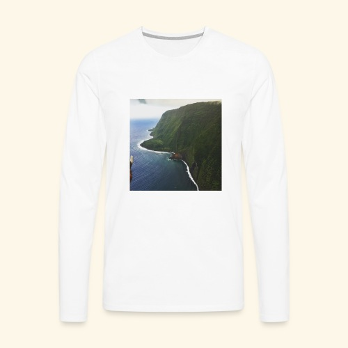 Hawaiian Beauty - Men's Premium Long Sleeve T-Shirt