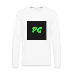 PixelGamingXL - Men's Premium Long Sleeve T-Shirt