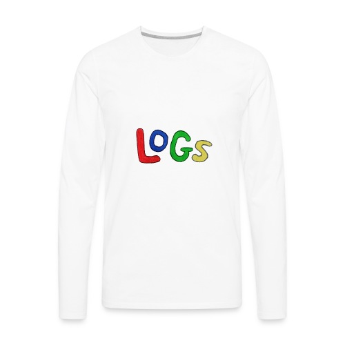 LOGS Design - Men's Premium Long Sleeve T-Shirt