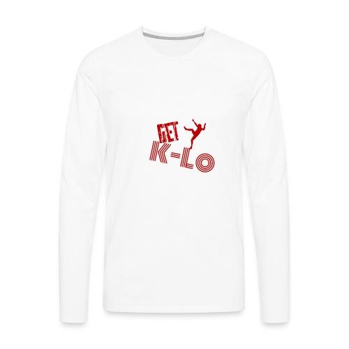 Red k lo - Men's Premium Long Sleeve T-Shirt