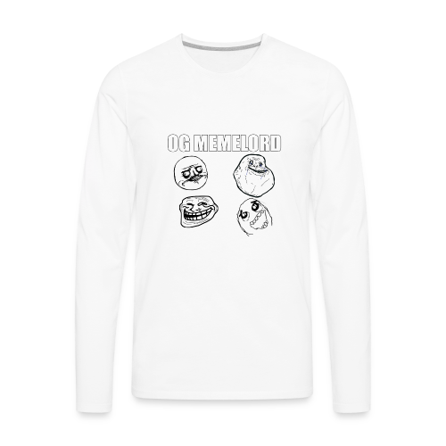 OG MEMELORD - Men's Premium Long Sleeve T-Shirt