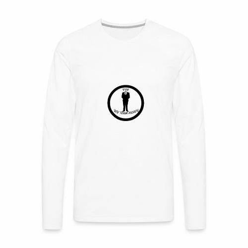FLYTEAM LOGO - Men's Premium Long Sleeve T-Shirt