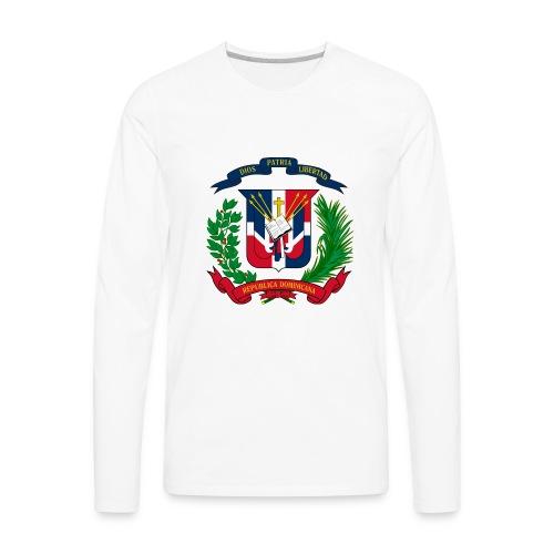 Dominican shield - Men's Premium Long Sleeve T-Shirt