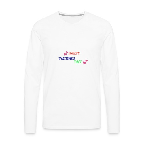 Valentine's Day Merch - Men's Premium Long Sleeve T-Shirt