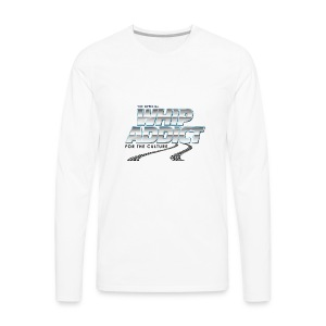 WhipAddict Logo 2 - Men's Premium Long Sleeve T-Shirt