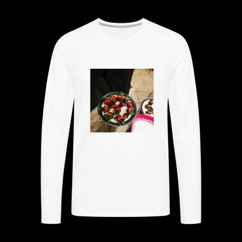 V-Day from Cakez Zauce - Men's Premium Long Sleeve T-Shirt